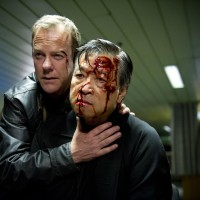Jack Bauer (Kiefer Sutherland) captures Cheng Zhi (Tzi Ma) in 24: Live Another Day Finale