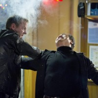 Jack Bauer (Kiefer Sutherland) battles Cheng Zhi (Tzi Ma) in the 24: Live Another Day Finale