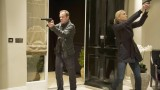 Jack Bauer (Kiefer Sutherland) and Kate Morgan (Yvonne Strahovski) go on a mission in 24: Live Another Day Episode 11