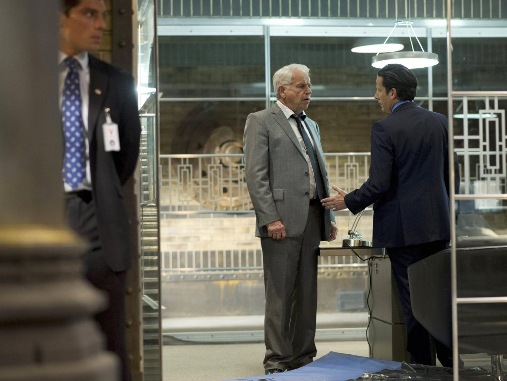 President Heller (William Devane) learns shocking news about Audrey in 24: Live Another Day Finale