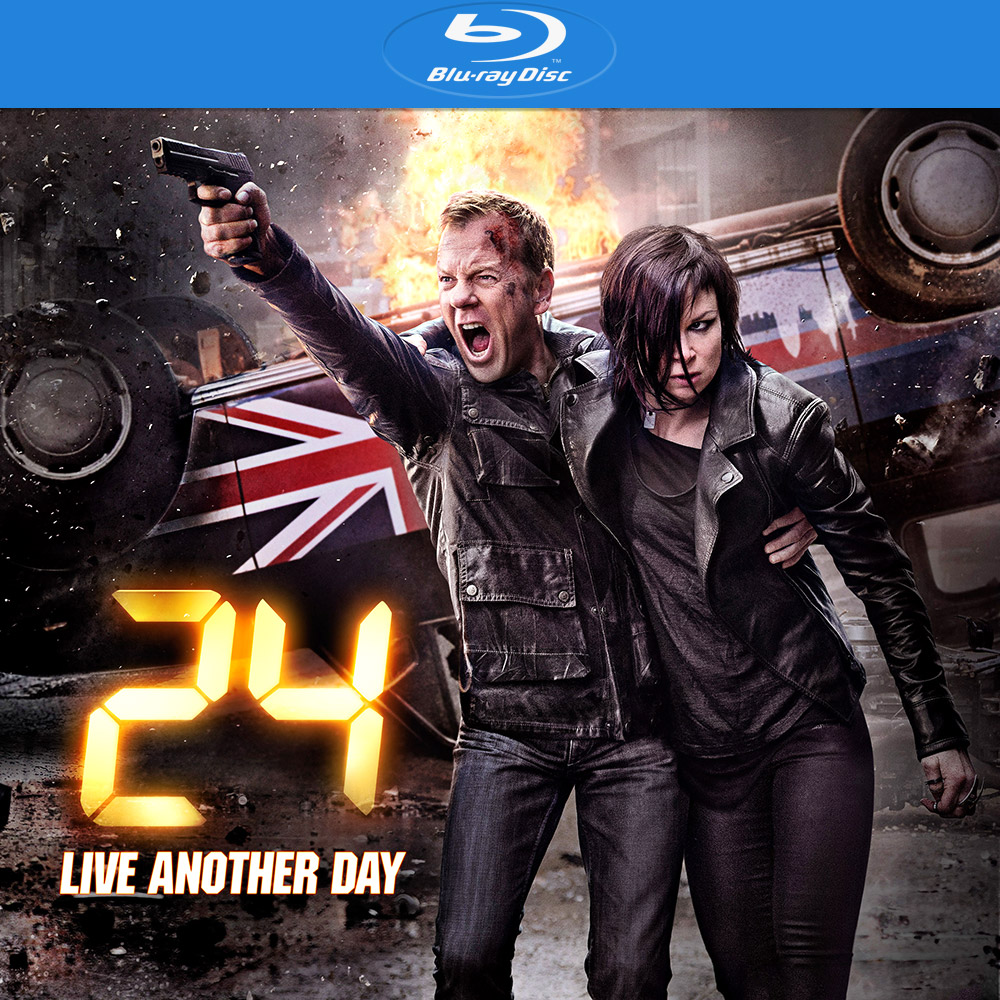 24: Live Another Day Blu-Ray Box Art