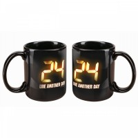 24: Live Another Day logo mug