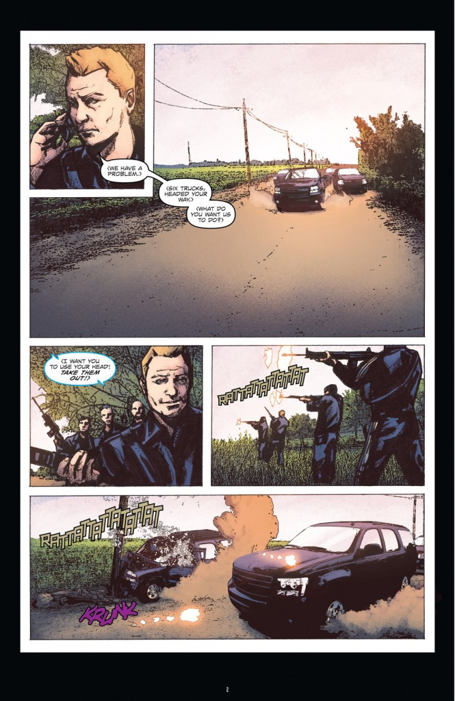 24: Underground Issue #5 Page 2
