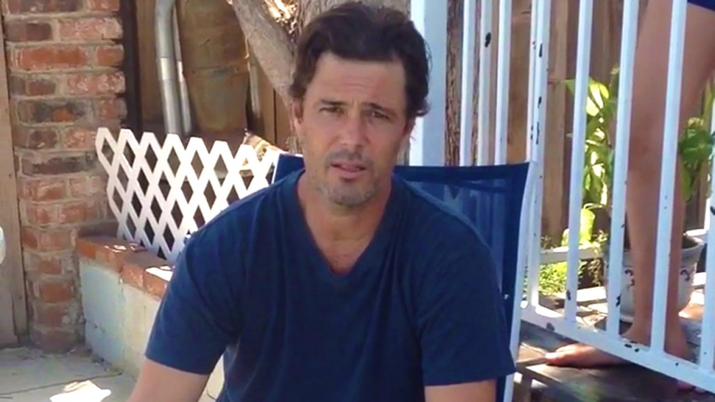 Carlos Bernard does ALS ice bucket challenge