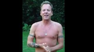 Kiefer Sutherland ALS Ice Bucket Challenge