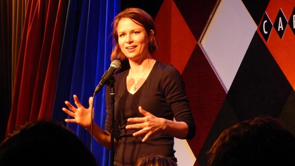 Mary Lynn Rajskub at Caroline's on Broadway in New York City