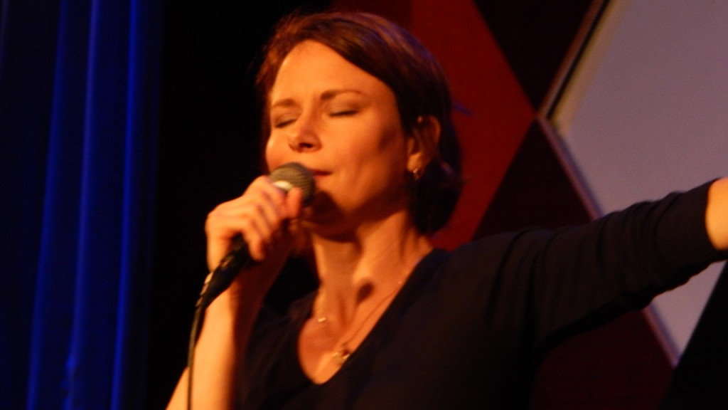 Mary Lynn Rajskub shares a sexual fantasy during standup at Caroline's on Broadway in New York City