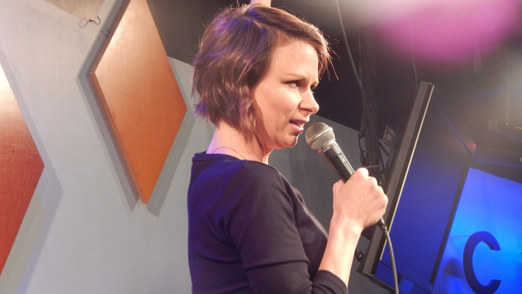 Mary Lynn Rajskub standup comedy at Caroline's on Broadway in New York City
