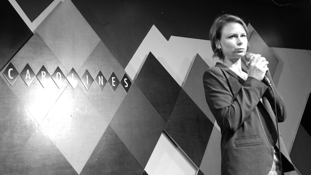 Mary Lynn Rajskub comedy show at Caroline's on Broadway in New York City