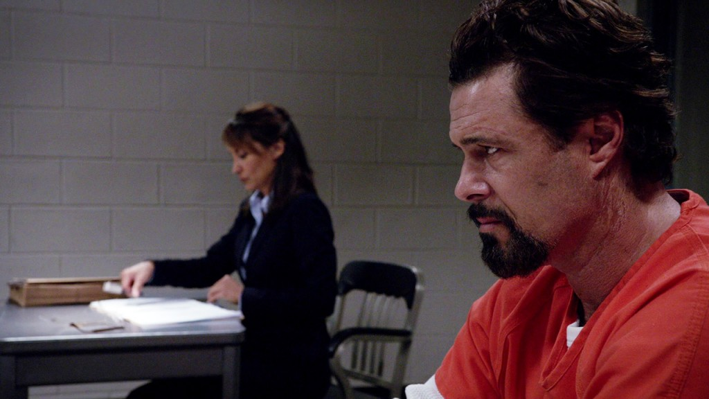 Tony Almeida and Vanessa Diaz in 24: Solitary