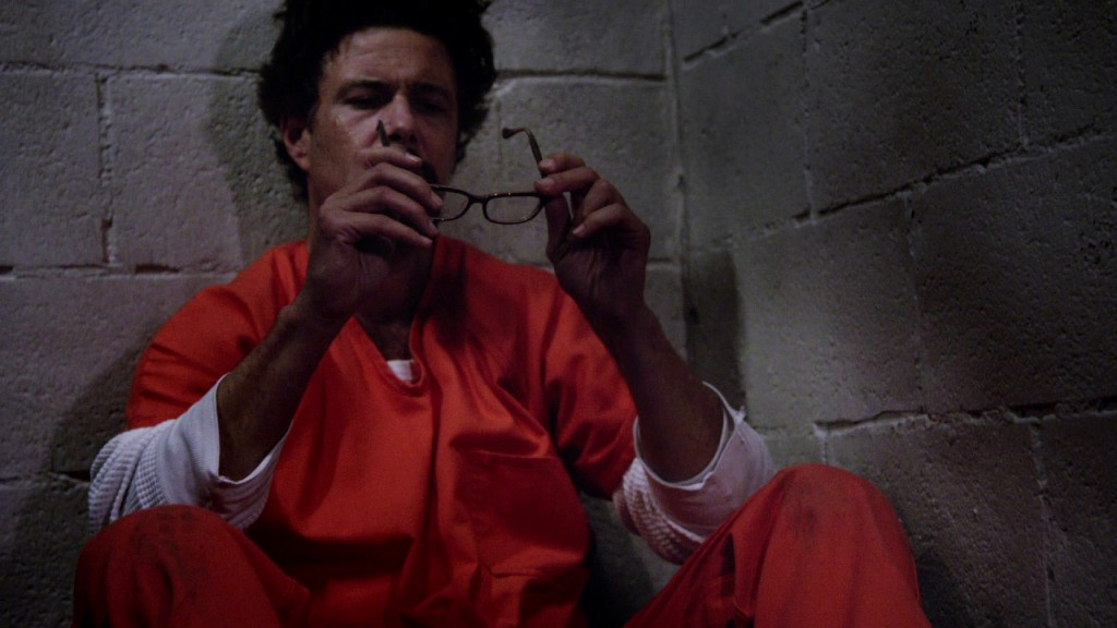 Tony puts on glasses in 24: Solitary