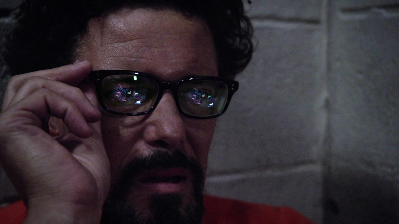 Tony Almeida sees prison schematics in 24: Solitary