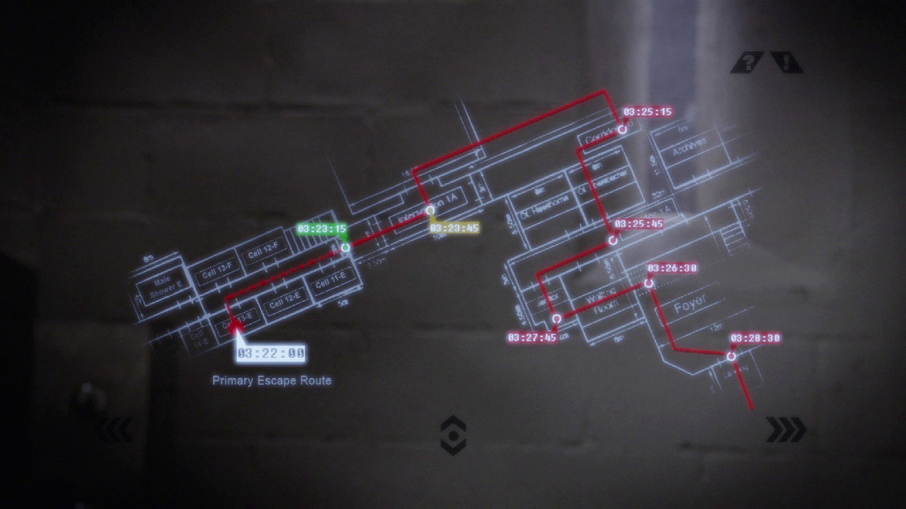 Tony Almeida sees the prison schematics in 24: Solitary