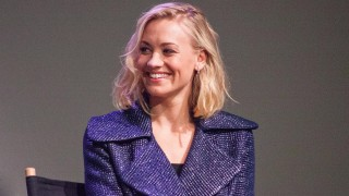 Yvonne Strahovski promoting I, Frankenstein at Apple Soho Store in New York City, Jan. 2014