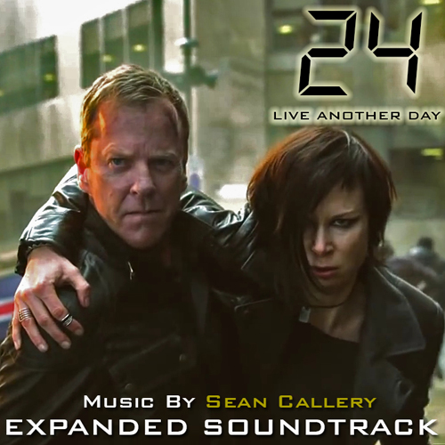 24: Live Another Day Expanded Soundtrack cover art