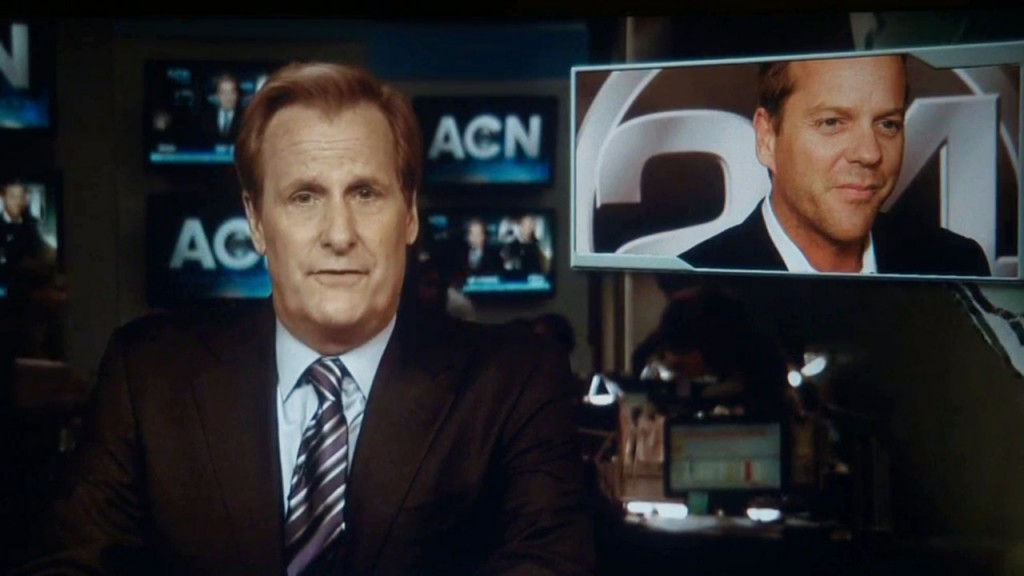 The Newsroom series finale 24 mention