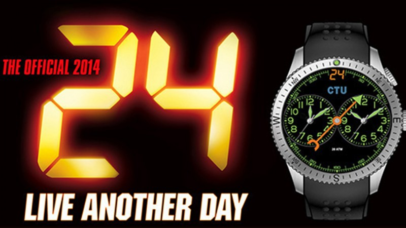 Official 24: Live Another Day Watch by U.S. Agency Watch Company