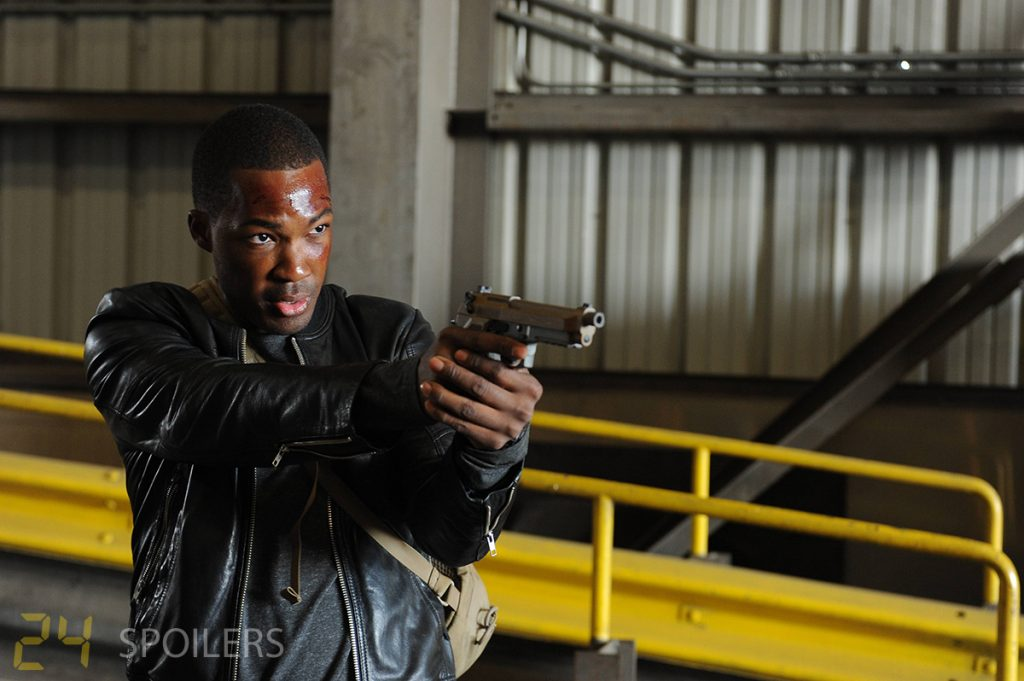 24: Legacy Pilot first photo of Corey Hawkins