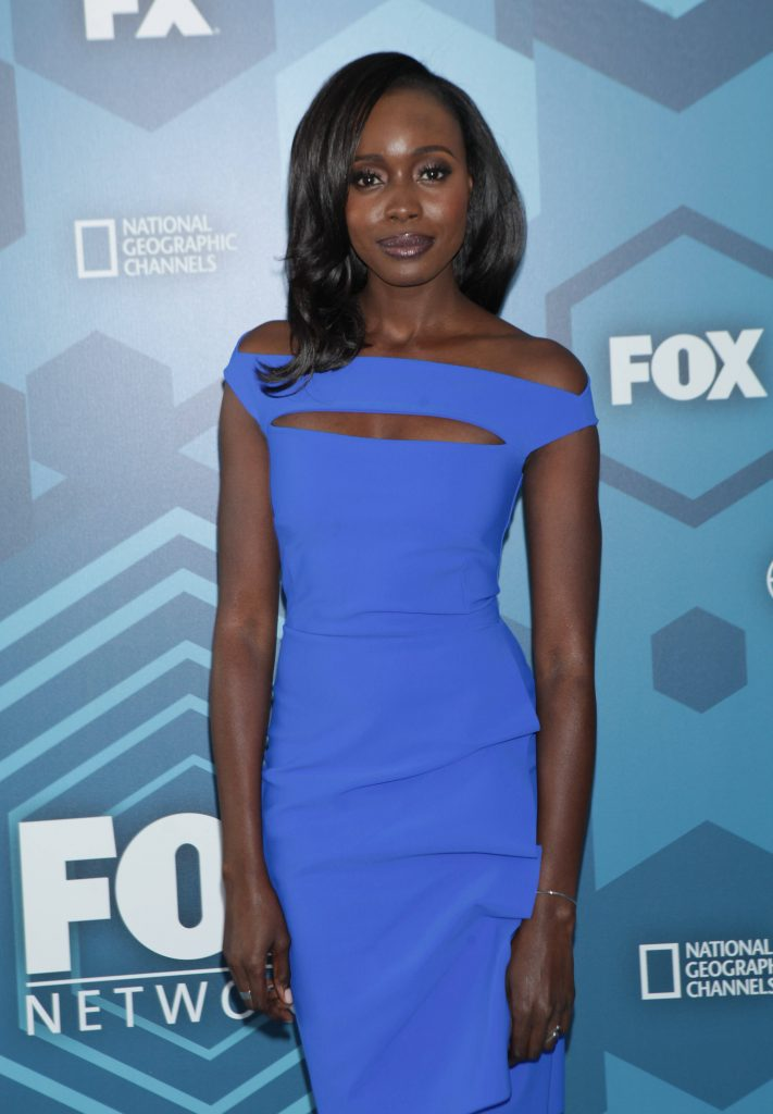 Anna Diop (24: Legacy) at FOX 2016 Upfronts Party