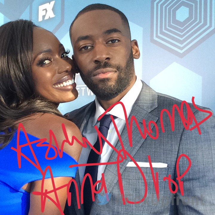 Anna Diop and Ashley Thomas at Fox Upfronts Party (via Twitter)