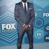 Ashley Thomas aka Bashy (24: Legacy) at FOX 2016 Upfronts Party