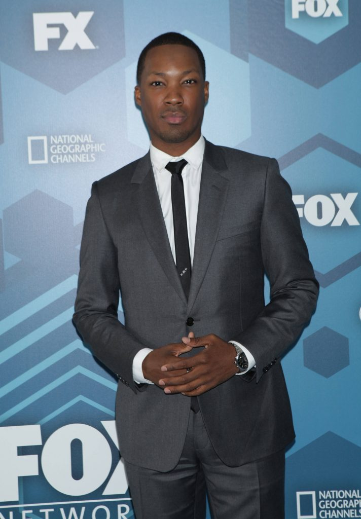 Corey Hawkins (24: Legacy) at FOX 2016 Upfronts Party