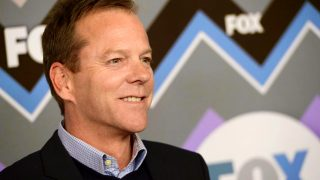 Kiefer Sutherland at a FOX event