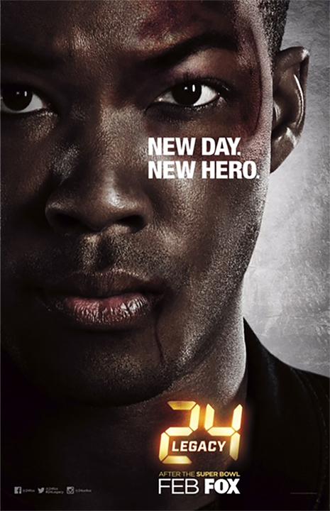 Corey Hawkins on 24: Legacy Poster