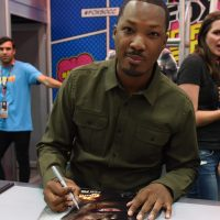 Corey Hawkins signing autographs at 24: Legacy San Diego Comic-Con 2016 Fan Signing