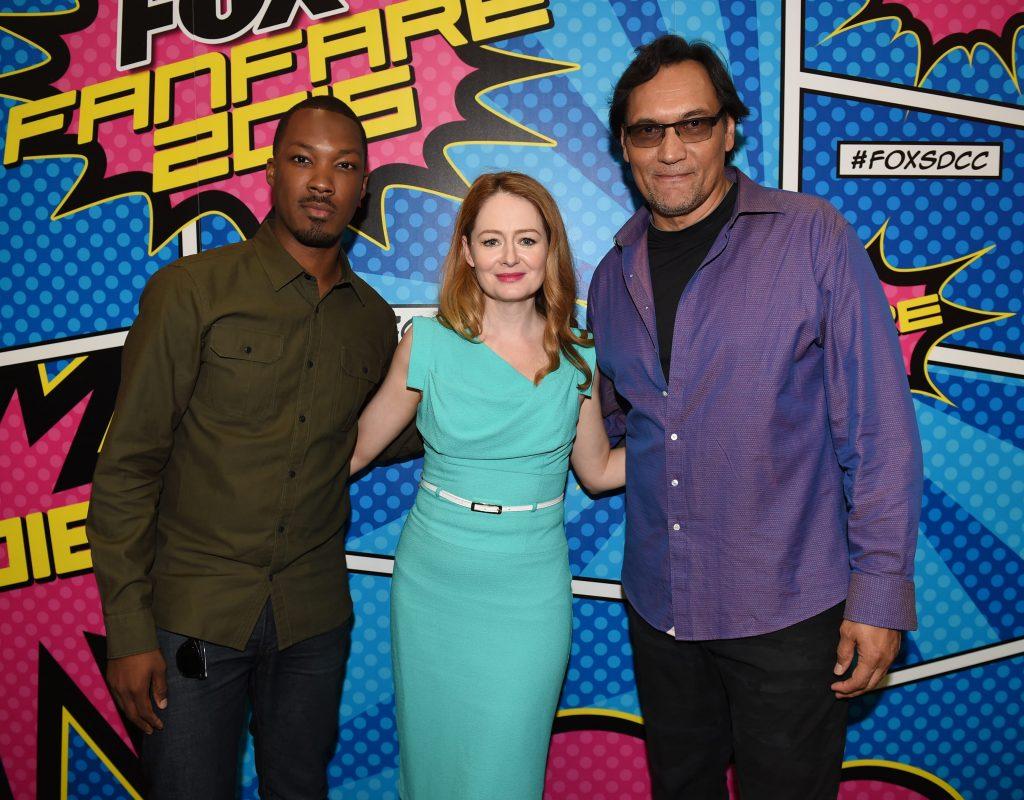24: Legacy San Diego Comic-Con 2016 Fan Signing Corey Hawkins, Miranda Otto, Jimmy Smits