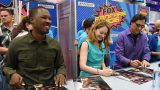 24: Legacy San Diego Comic-Con 2016 Fan Signing Corey Hawkins, Miranda Otto, Jimmy Smits smiling