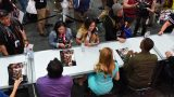24: Legacy cast members signing autographs at 24: Legacy San Diego Comic-Con 2016 Fan Signing