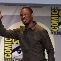 Corey Hawkins waves to fans at 24: Legacy San Diego Comic-Con 2016 Panel