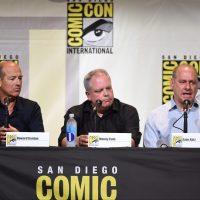 Howard Gordon and showrunners Manny Coto, Evan Katz at 24: Legacy San Diego Comic-Con 2016 Panel