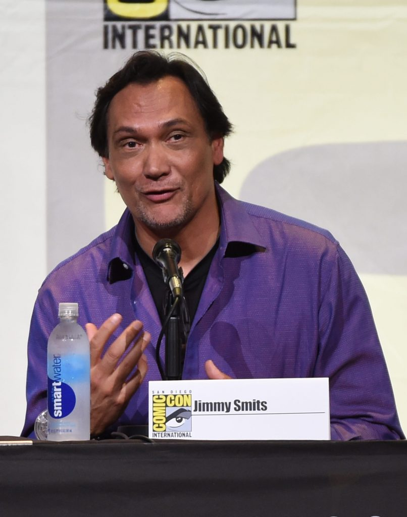 Jimmy Smits speaking at 24: Legacy San Diego Comic-Con 2016 Panel