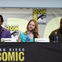 24: Legacy cast members Jimmy Smits, Miranda Otto, and Corey Hawkins at 24: Legacy San Diego Comic-Con 2016 Panel