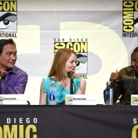 24: Legacy cast members Jimmy Smits, Miranda Otto, and Corey Hawkins at 24: Legacy San Diego Comic-Con 2016 Panel