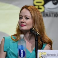 Miranda Otto on stage at 24: Legacy San Diego Comic-Con 2016 Panel