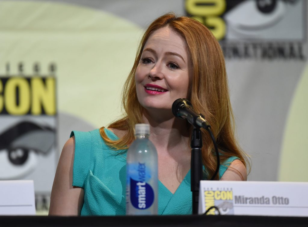 Miranda Otto speaks to fans at 24: Legacy San Diego Comic-Con 2016 Panel