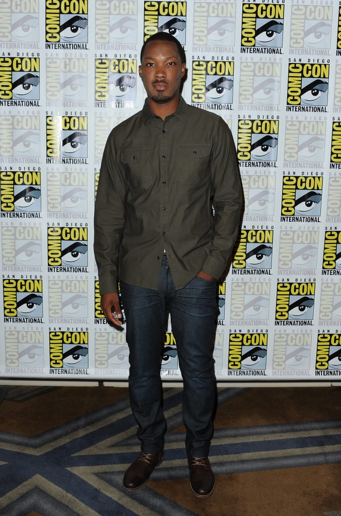Corey Hawkins, star of 24: Legacy at San-Diego Comic-Con 2016