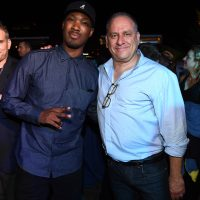 Corey Hawkins and 24: Legacy showrunner Evan Katz at San Diego Comic-Con 2016