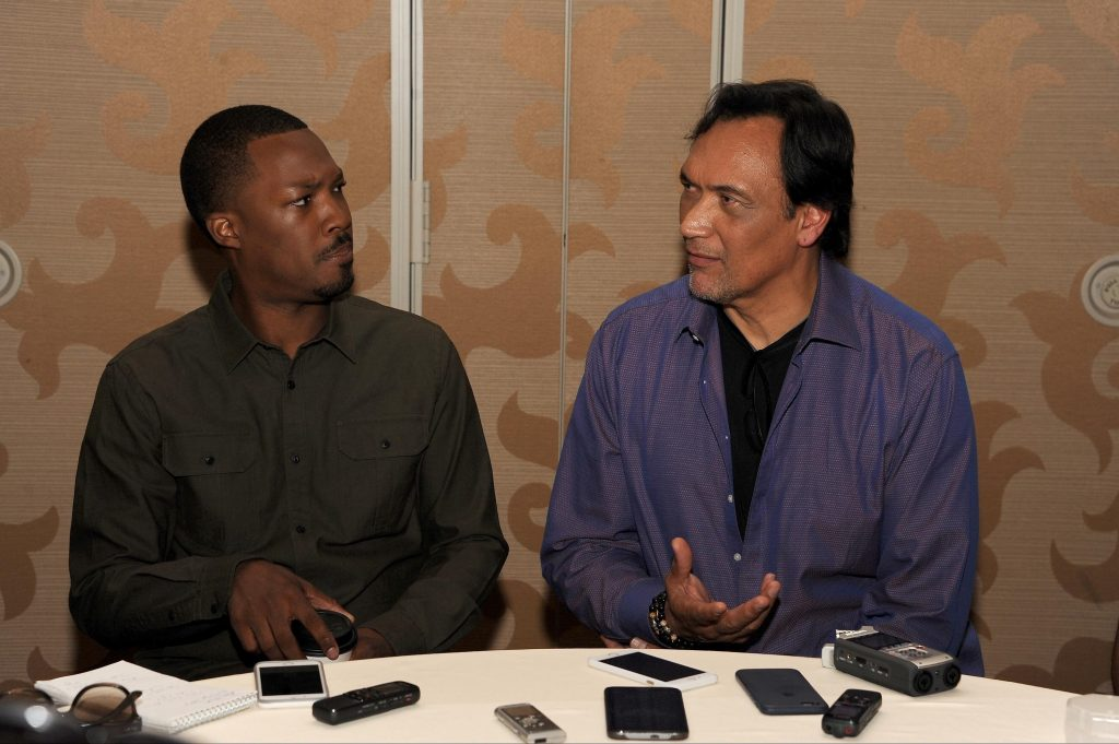 Corey Hawkins and Jimmy Smits of 24: Legacy at San Diego Comic-Con 2016