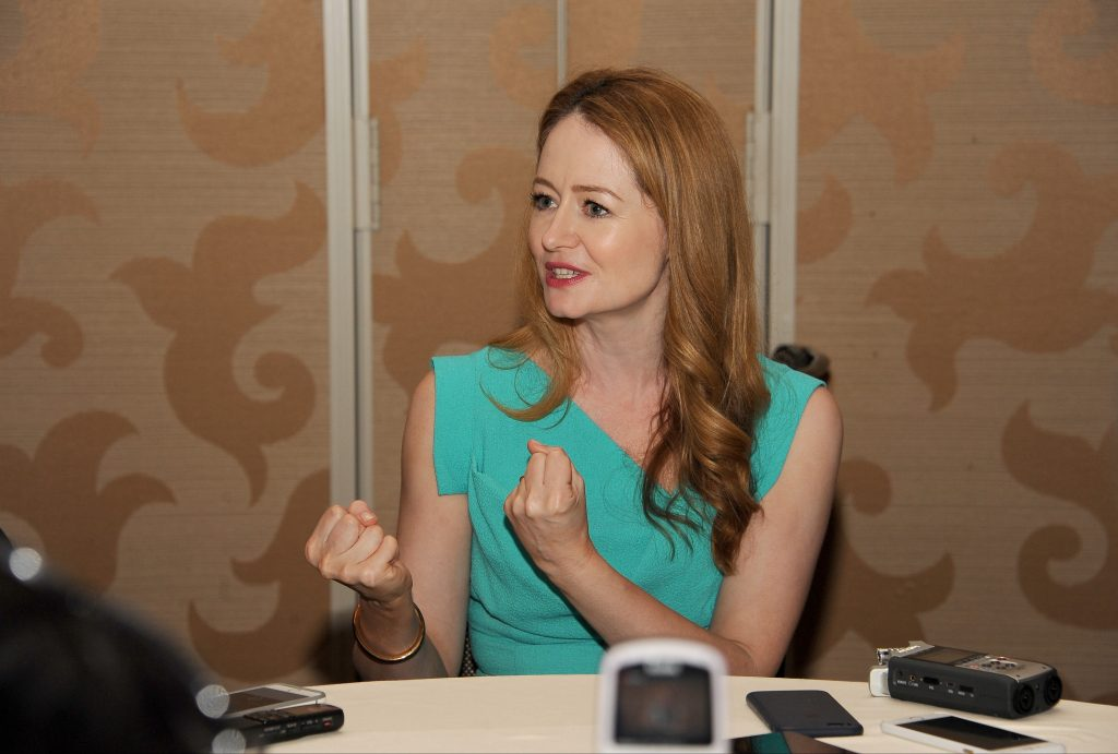 Miranda Otto of 24: Legacy interviewed at San Diego Comic-Con 2016
