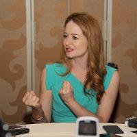 Miranda Otto of 24: Legacy interviewed at San Diego Comic-Con 2016