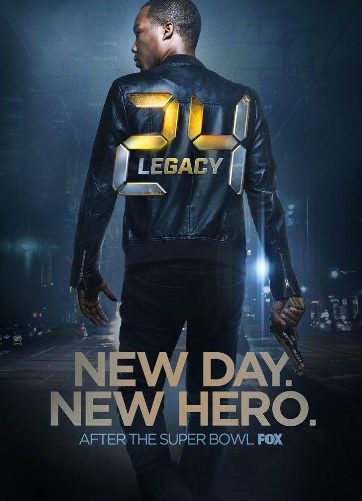 24: Legacy Poster - FOX TV series starring Corey Hawkins