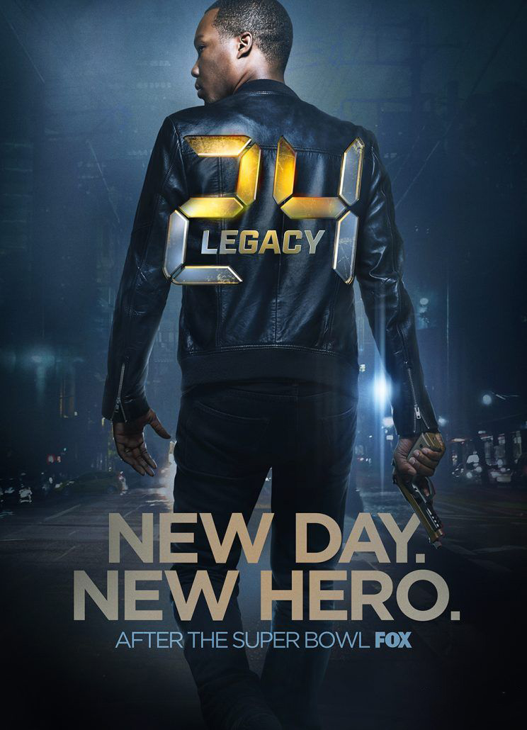 24: Legacy Poster - FOX TV series starring Corey Hawkins