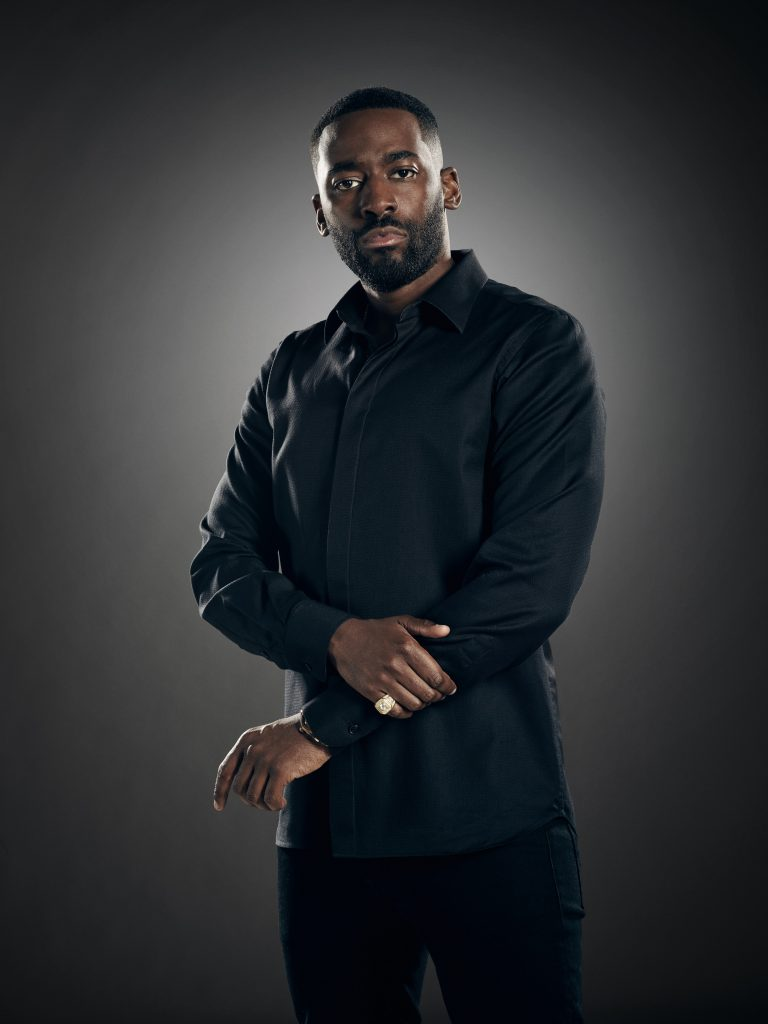 Ashley Thomas as Isaac Carter in 24: Legacy - Official Cast Photo