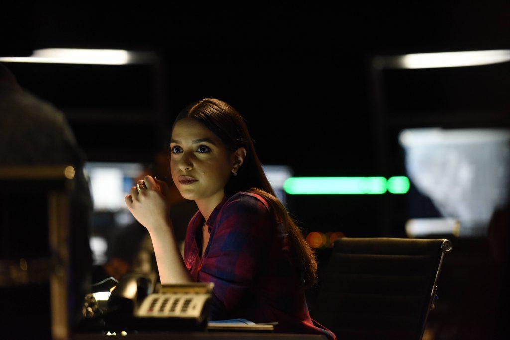 Coral Pena as CTU analyst Mariana Stiles in 24: Legacy Pilot