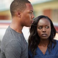 Corey Hawkins and Anna Diop in 24: Legacy Pilot