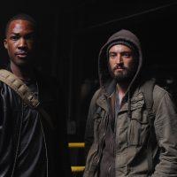 Corey Hawkins and Charlie Hofheimer in 24: Legacy Pilot